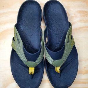 Merrell Men's Paciki Wrap Sandals Dusty Olive